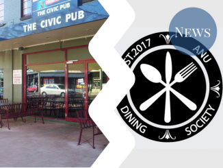 Dinsoc logo and civic pub