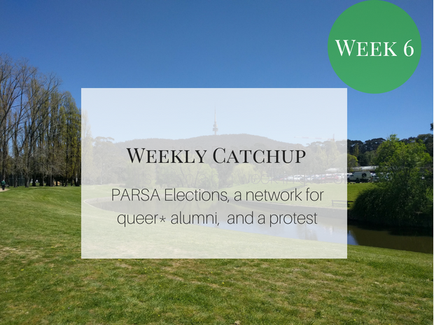 PARSA Elections, a network for queer* alumni and a protest