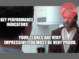 """Your clones are very impressive. You must be very proud."""