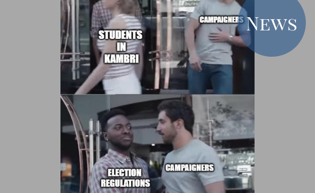"""""""Not Cool, Bro"""" meme but with campaigners and the Election Regulations"""